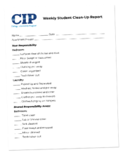 071819 BLOG Weekly Checklist