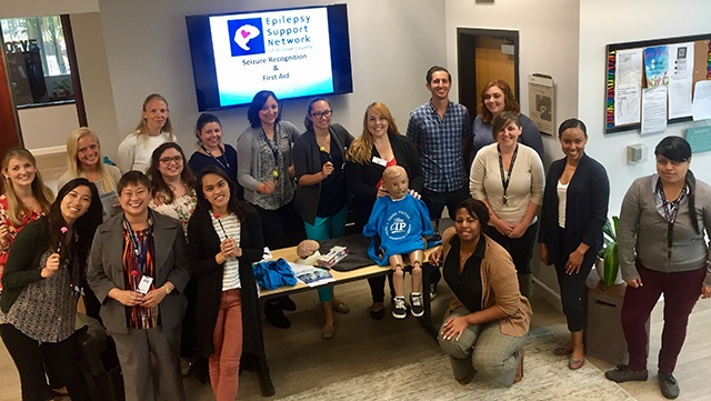 Epilepsy Support Training at CIP