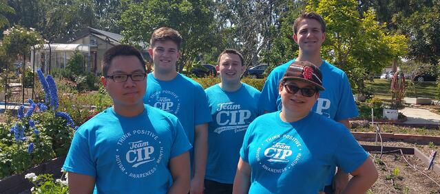 college-age students at CIP Long Beach