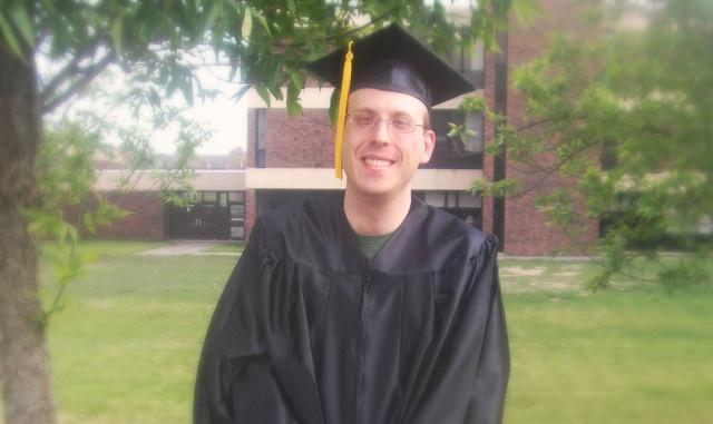 Sam H. at Graduation